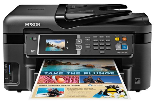 Standard Multi-Function Inkjet Printer (WF-3620)
