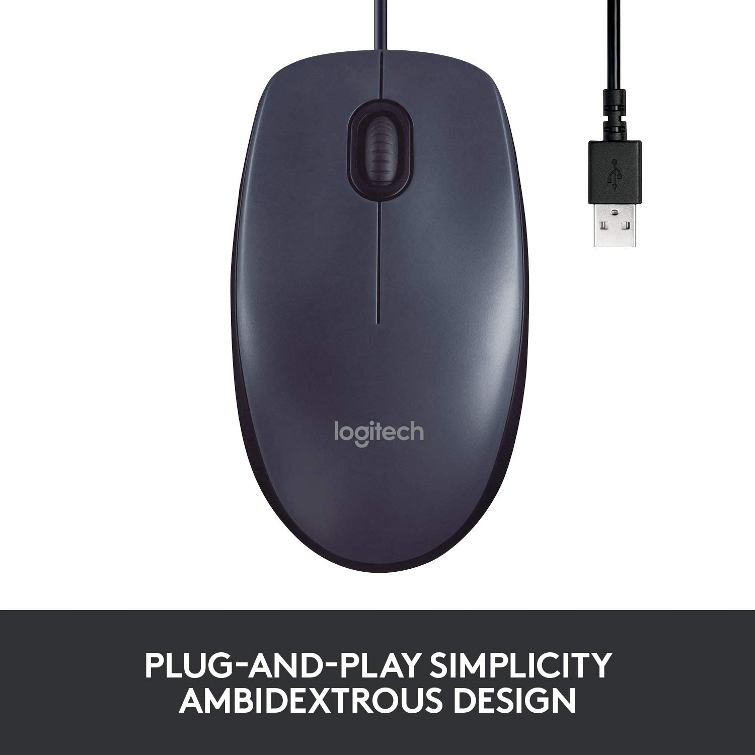 USB Wired Mouse (B100)