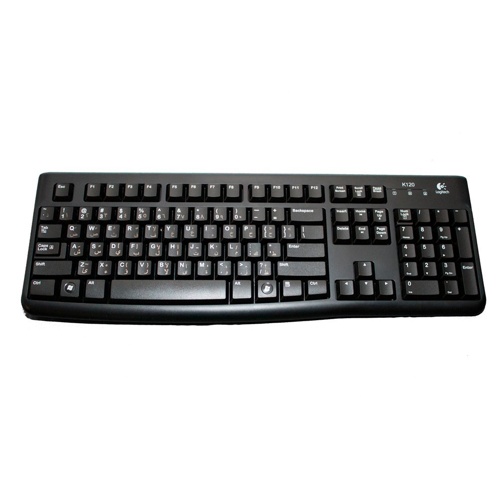 USB Wired Logitech Keyboard (K120)