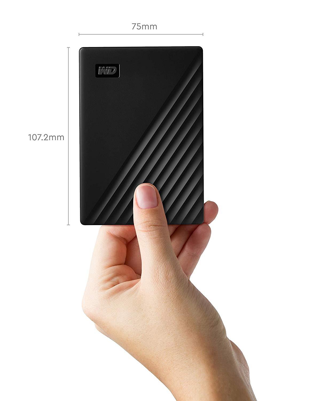 USB Backup Drive (WDBU6Y0050BBK-WESN)