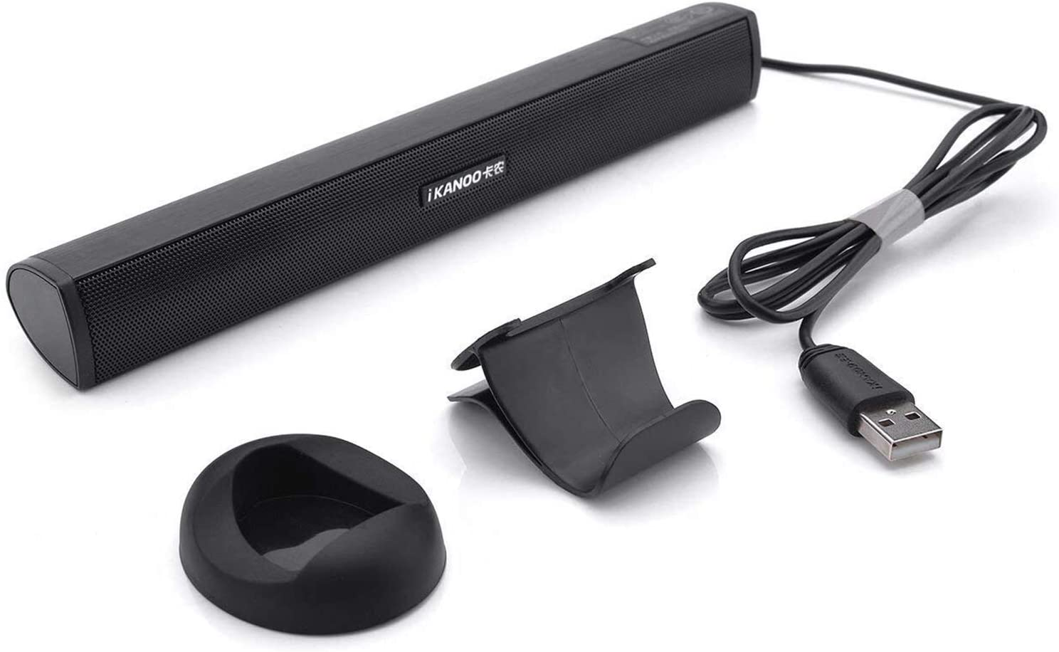 USB Powered Stereo Sound Bar Speaker (LLR012AB)