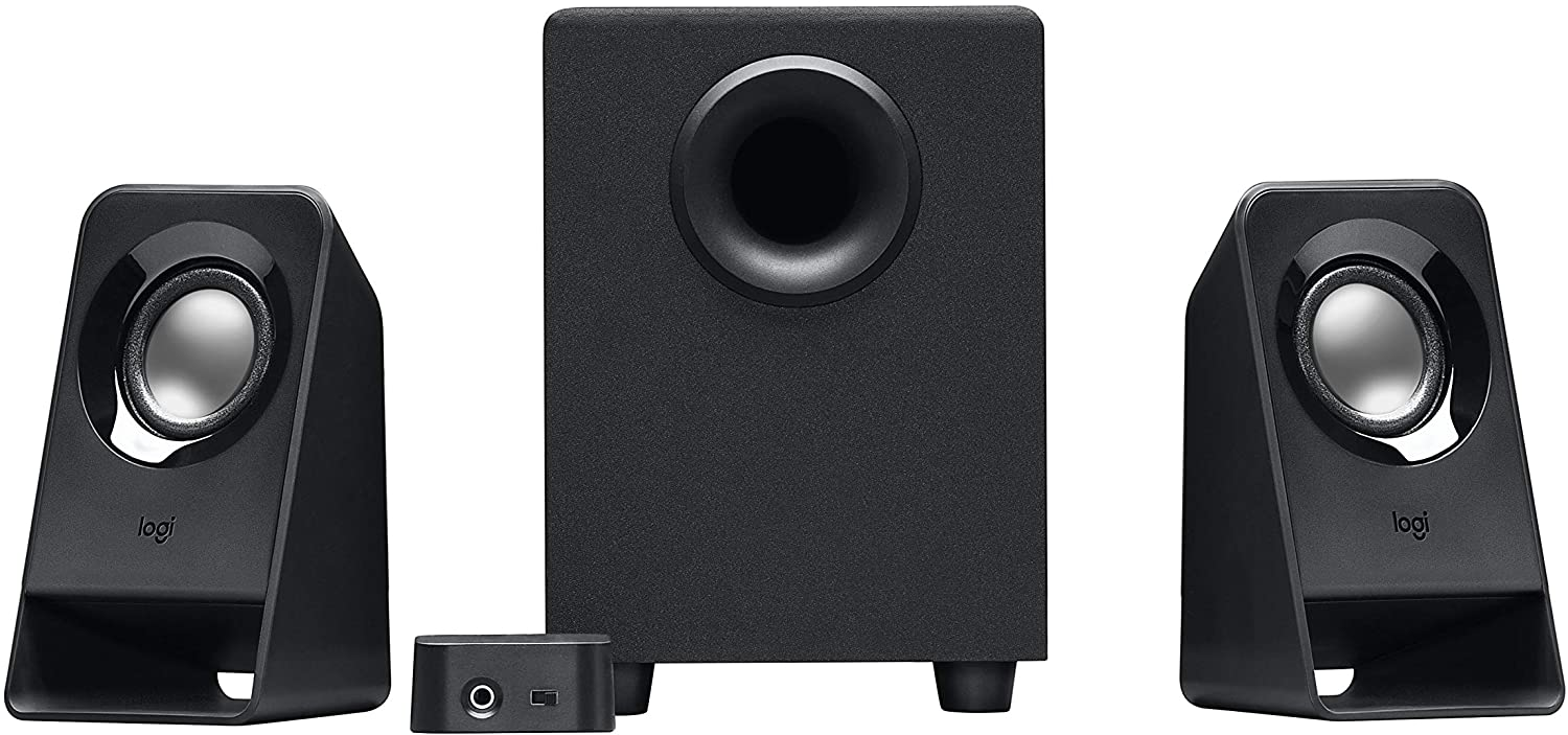 Desktop Computer Speakers with Subwoofer and Remote (Z213)
